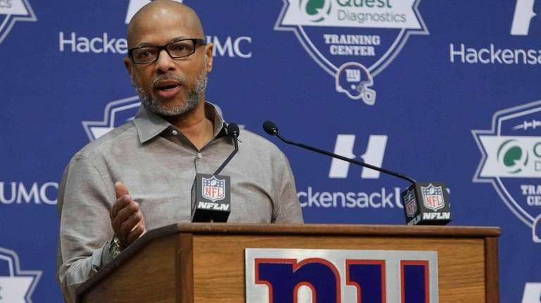 New York Giants general manager Jerry Reese responds