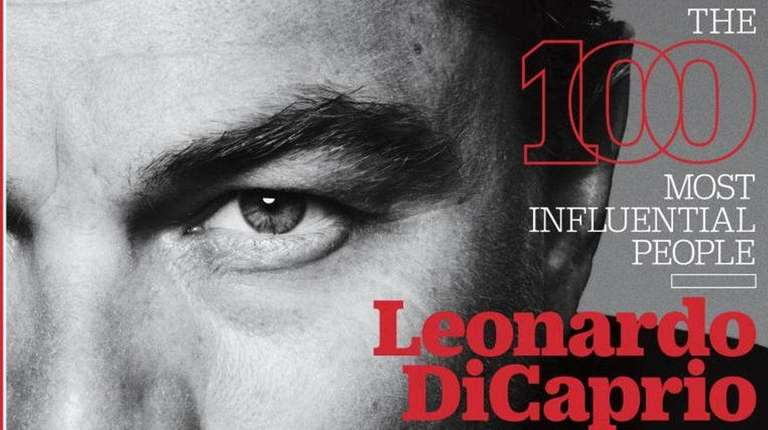 Leonardo DiCaprio is one of Time magazine's