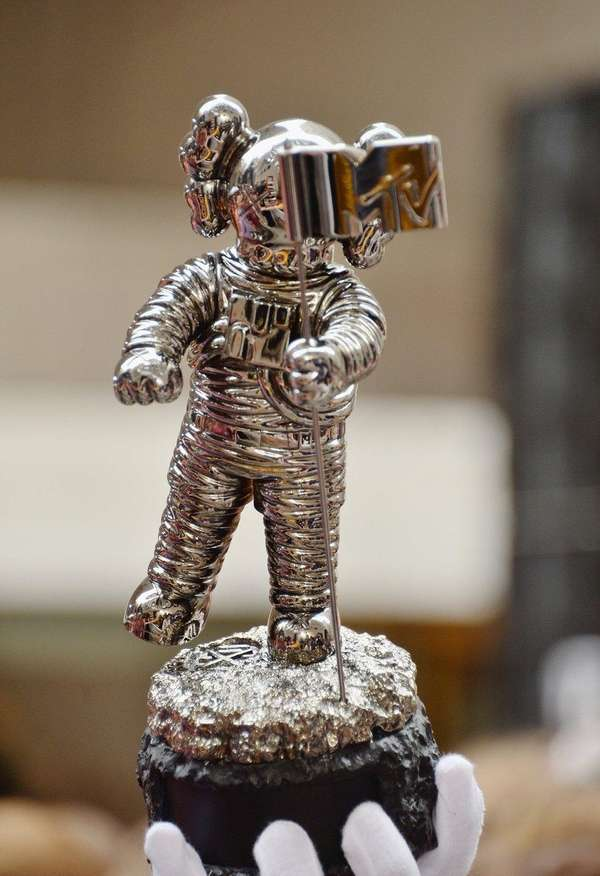 MTV's Video Music Awards' Moonman trophies will be