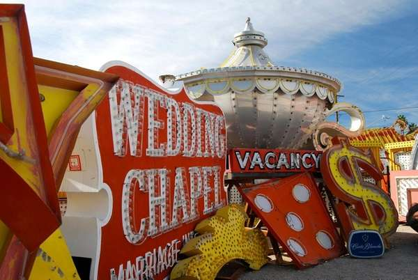 The Neon Museum in Las Vegas is an