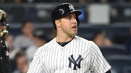 New York Yankees first baseman Mark Teixeira returns
