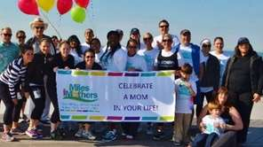 Mom-mentum's run/walk on Saturday, May 7, commemorates the
