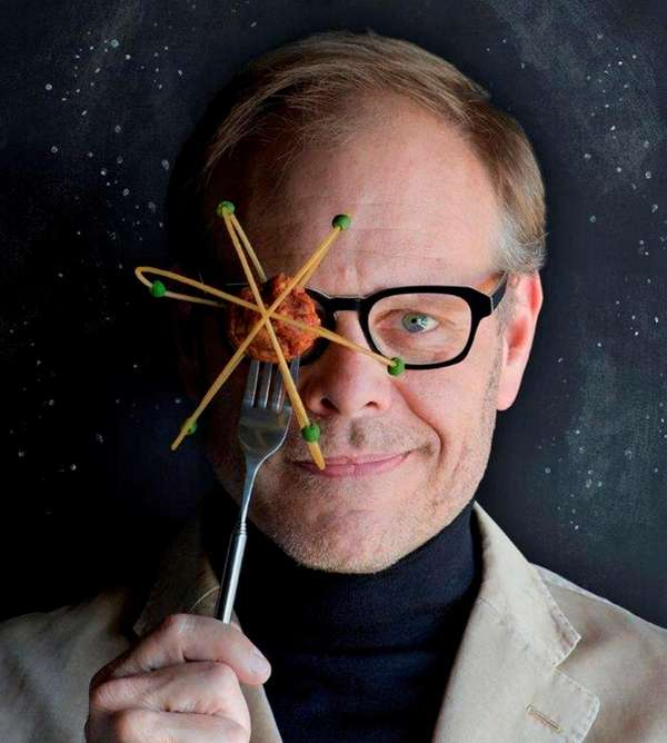 Alton Brown invites audience members onstage to act