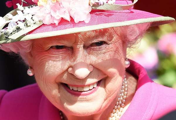 Queen Elizabeth II on April 20, 2016. Among