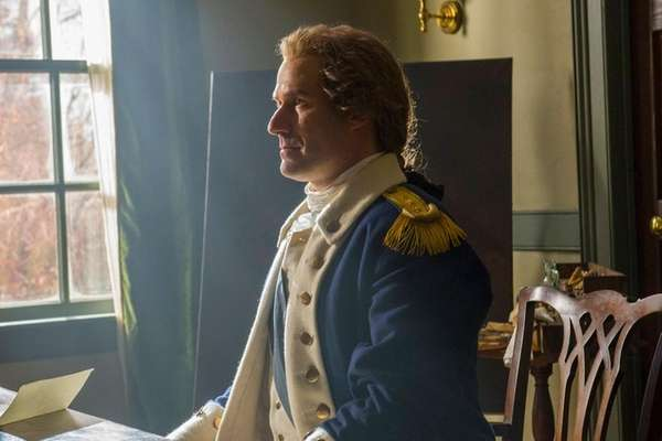 Ian Kahn says that portraying Gen. George Washington