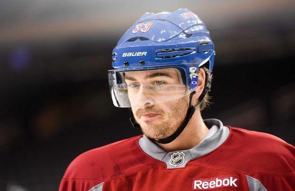 New York Rangers defenseman Raphael Diaz (33) looks