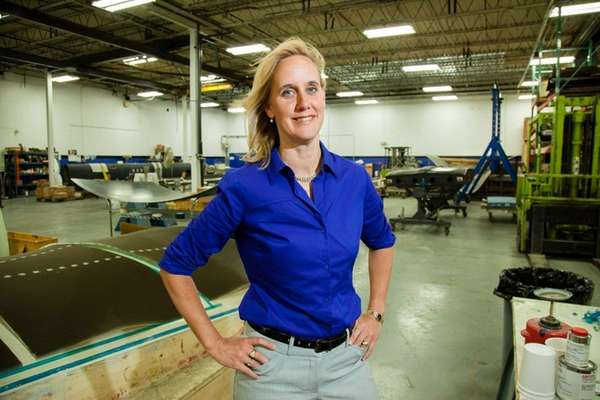 Anne Shybunko-Moore, president of GSE Dynamics Inc., an