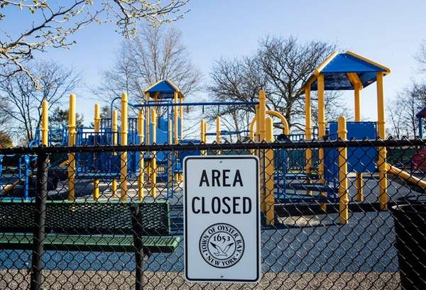 Parts of Bethpage Community Park in Bethpage was
