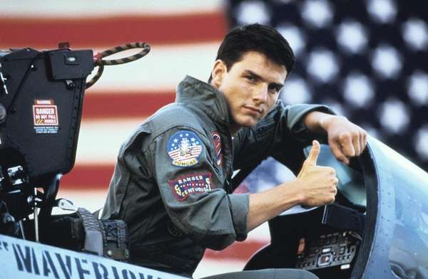 Tom Cruise flies again in