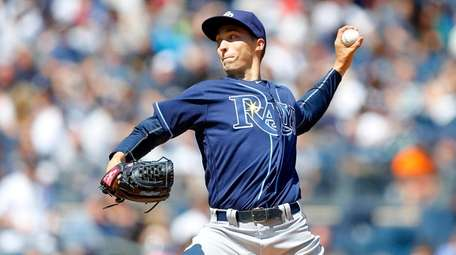 Blake Snell of the Tampa Bay Rays pitched