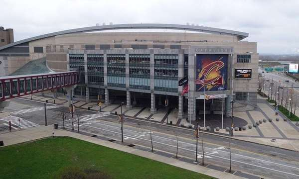 The Quicken Loans Arena, known as The Q,