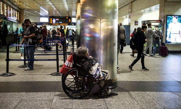 At Penn Station, shown Friday April 22, 2016,
