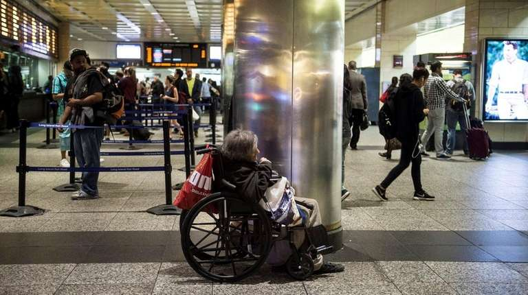 At Penn Station, shown Friday, April 22, 2016,