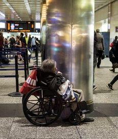 At Penn Station, shown Friday, April 22, 2016,