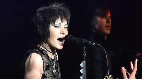 Joan Jett performs at the