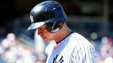 New York Yankees designated hitter Alex Rodriguez
