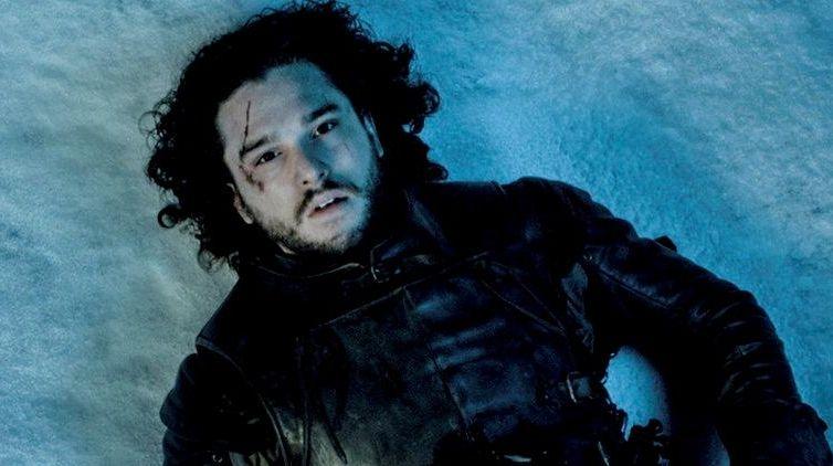 Kit Harington as Jon Snow in a scene