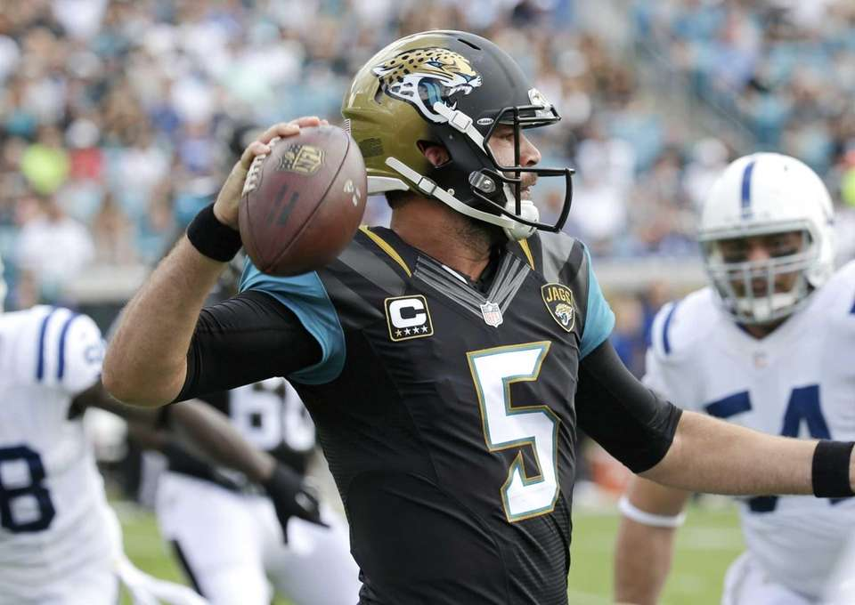 2014: BLAKE BORTLES Drafted: 1st round, 3rd overall