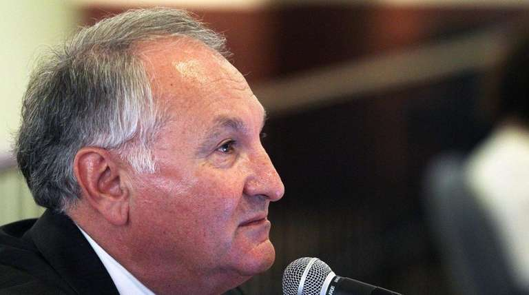Nassau County Comptroller George Maragos, above, released an