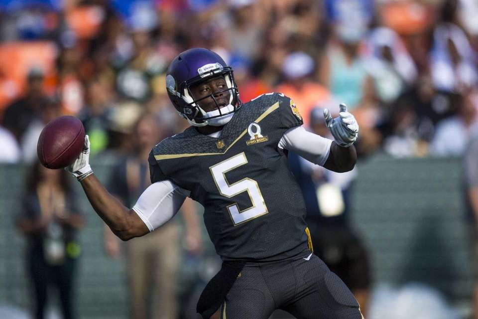 2014: TEDDY BRIDGEWATER Draft: 1st round, No. 32