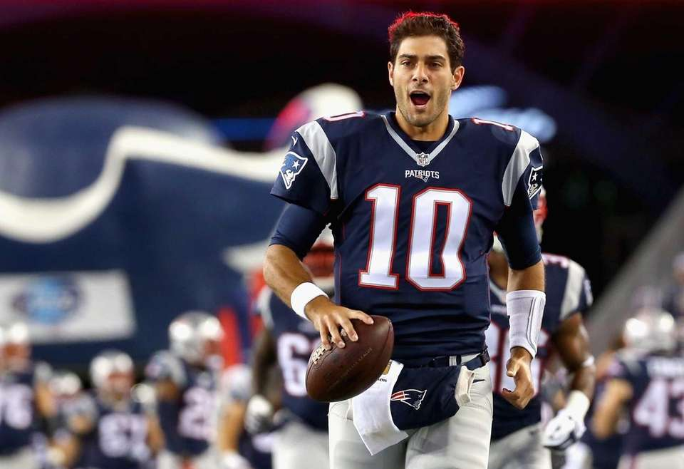 2014: JIMMY GAROPPOLO Draft: 2nd round, No. 62