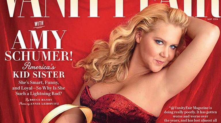 Amy Schumer is on the cover of Vanity