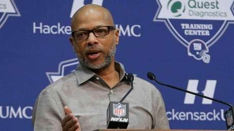New York Giants general manager Jerry Reese