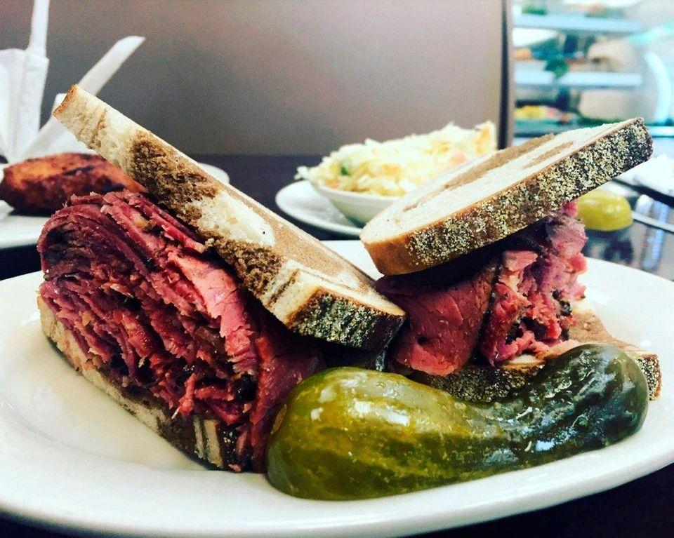 Pastrami sandwich at Pastrami Express (3882 Merrick Rd.,