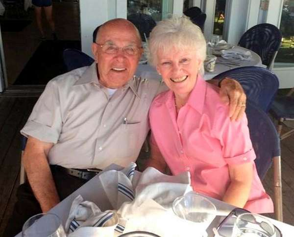 John and Edith Ragusa of Port Jefferson Station