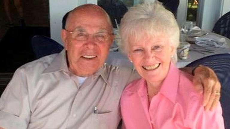 John and Edith Ragusa of Port Jefferson Station