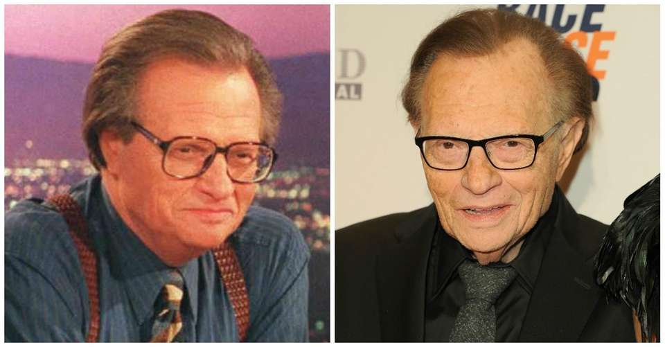 Larry King started his career as a disc