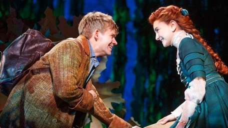 Andrew Keenan-Bolger and Sarah Charles Lewis in Broadway's