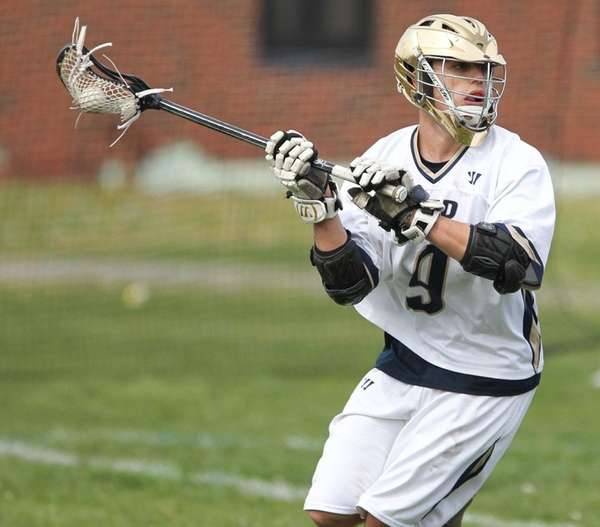 Bayport-Blue Point's Jack White scored four goals in