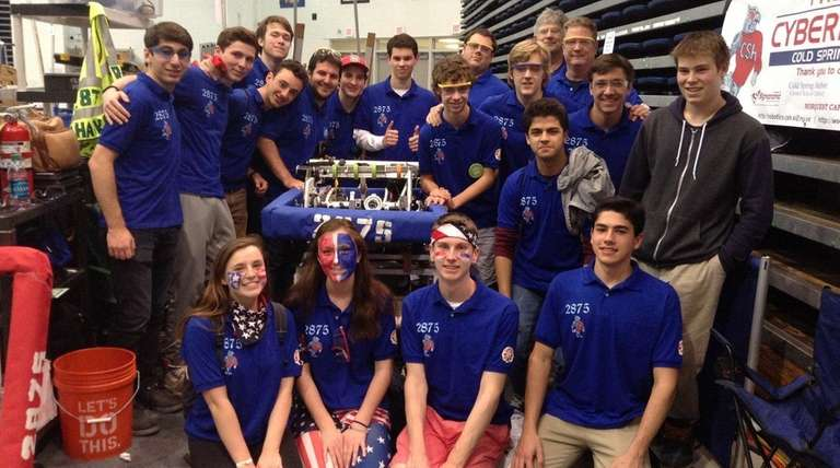 The CyberHawks (Team #2875) of Cold Spring Harbor