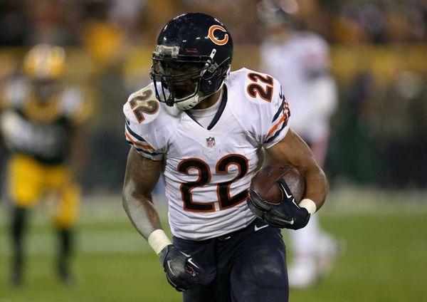 Running back Matt Forte says former Bears teammate