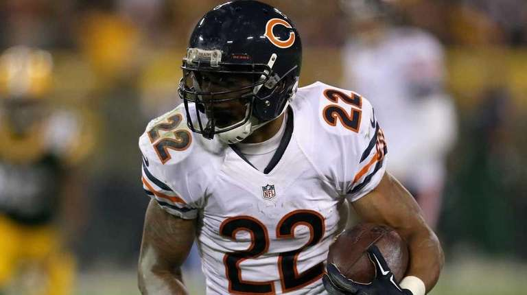 Running back Matt Forte says former Bears teammate