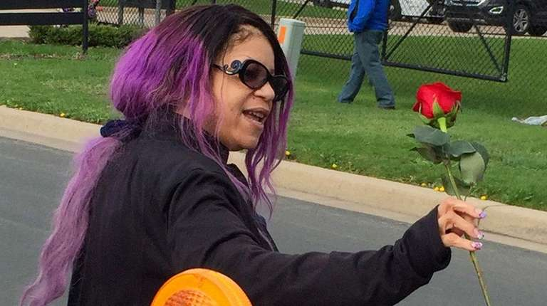 Prince's sister Tyka Nelson (pictured here outside the