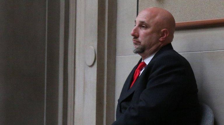 Nicholas Baialardo at court in Mineola on Tuesday,