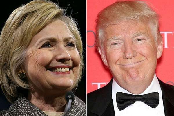 Hillary Clinton and Donald Trump won multiple state