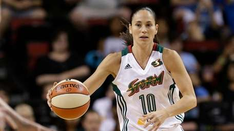Sue Bird of the Seattle Storm, who is