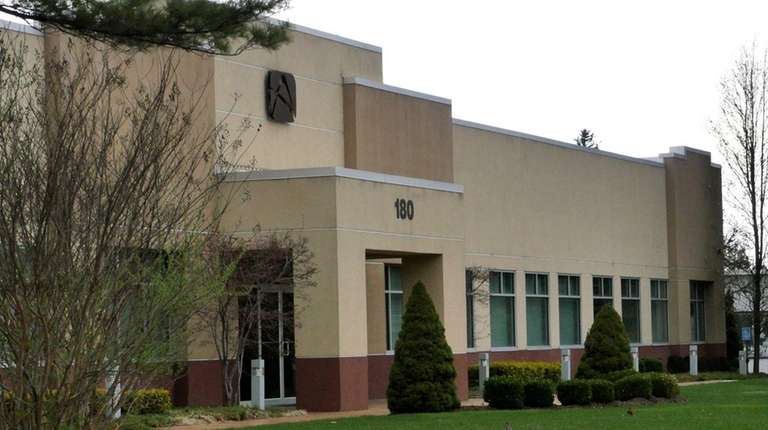 The former AudioVox building at 180 Marcus Blvd.