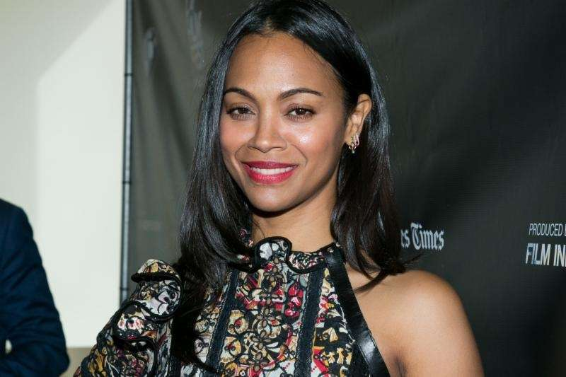 Actress Zoe Saldana is mom to twin boys,