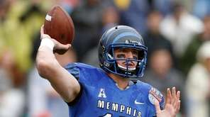 Memphis quarterback Paxton Lynch is a possible pick