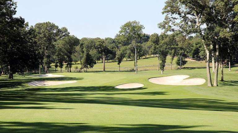 The pristine Glen Oaks Club in Old Westbury