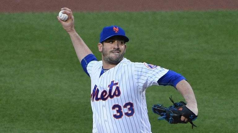 Matt Harvey allowed two runs in six innings,
