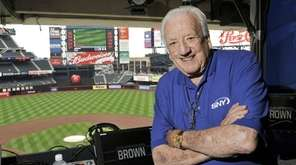 SNY broadcaster Ralph Kiner in the Citi