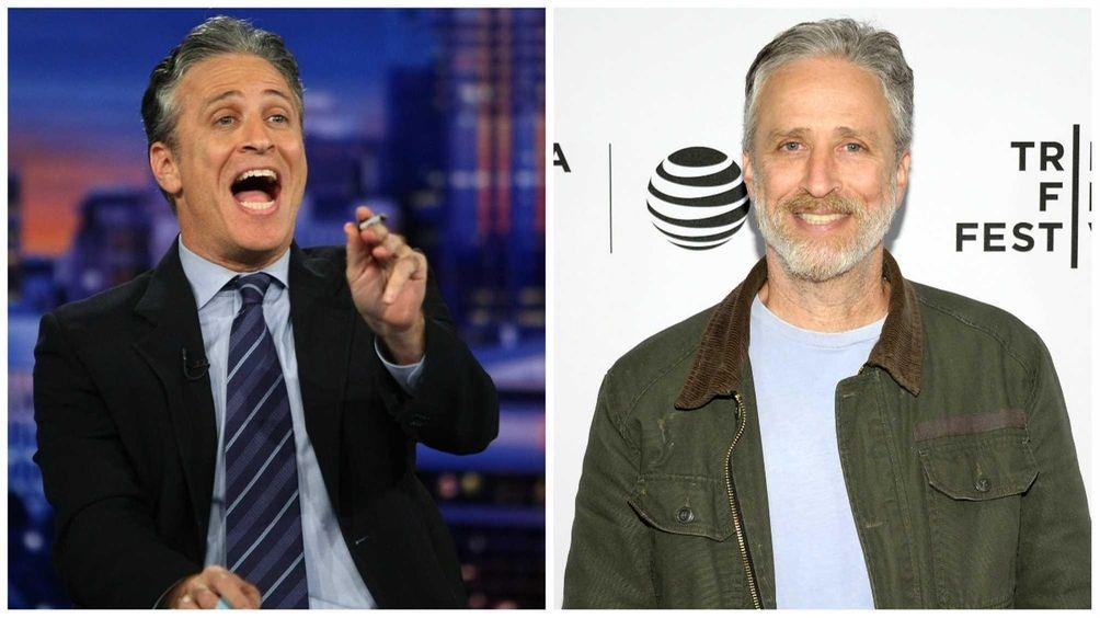 Jon Stewart left