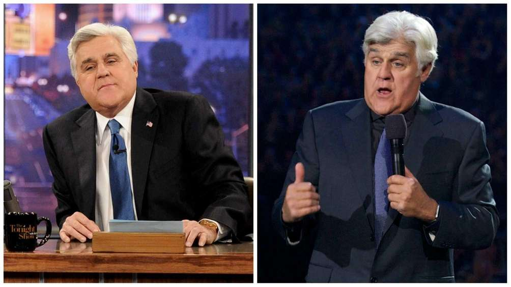 Longtime talk show host Jay Leno retired back