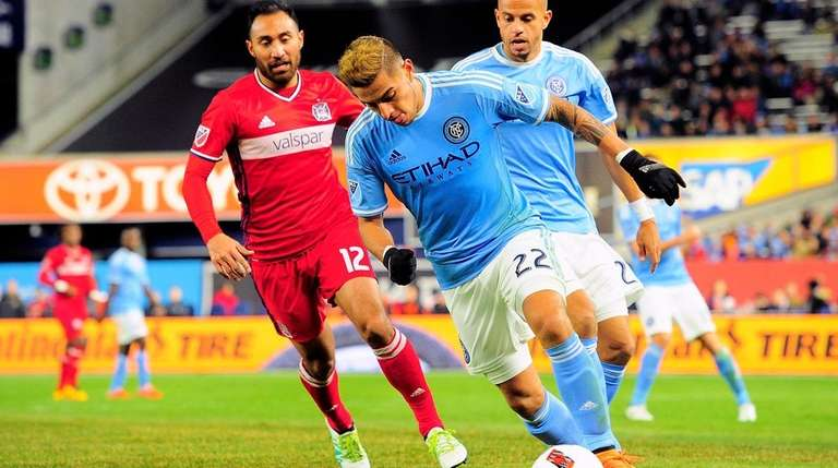 New York City FC defender Ronald Matarrita