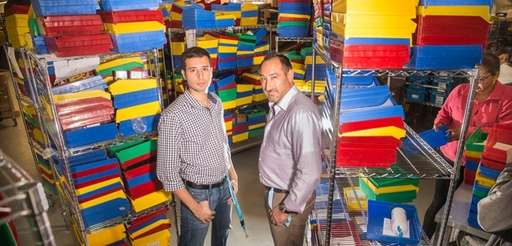 Pharmapacks CEO Andrew Vagenas and Jonathan Webb, CEO